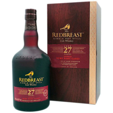 Redbreast 27 Year Old Single Pot Still