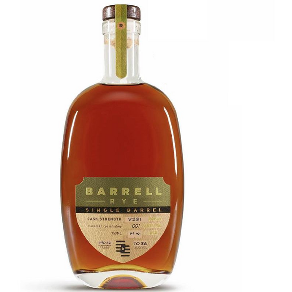 Exclusive - Barrell Single Barrel Canadian Rye V231