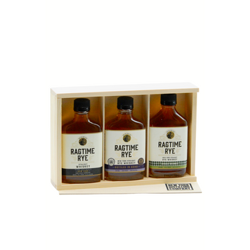 NYDC Rye Whiskey Flask Set