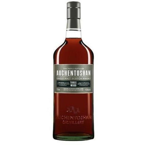 Auchentoshan Scotch Single Malt Three Wood Whiskey