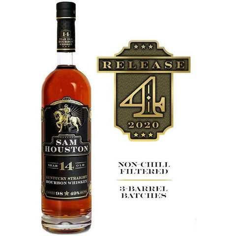 Sam Houston 14 Year Straight Bourbon