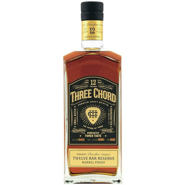 Three Chord Twelve Bar Reserve 12 Year Bourbon