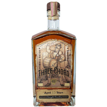 "Three Chord ""Whiskey Drummer"" 15 Year Old Bourbon Whiskey"
