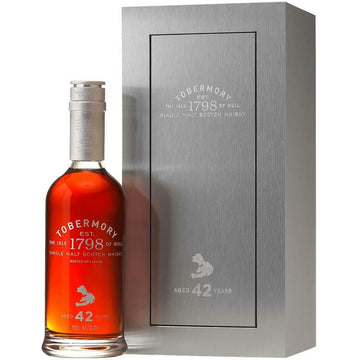 Tobermory 42 Year Old Cask Strength Single Malt Whisky