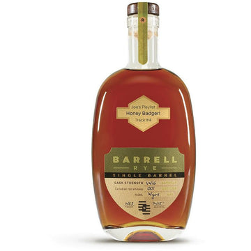 """Joe's Playlist"" - Track #4 Honey Badger Barrell Canadian Rye Single Barrel Whiskey V416"