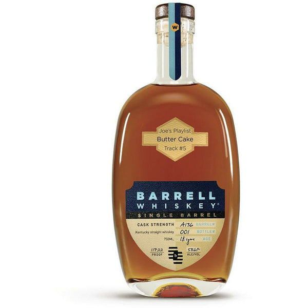 """Joe's Playlist"" - Track #5 Butter Cake Barrell Kentucky Single Barrel Whiskey A136"