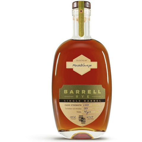Exclusive - Barrell Single Barrel Canadian Rye V201