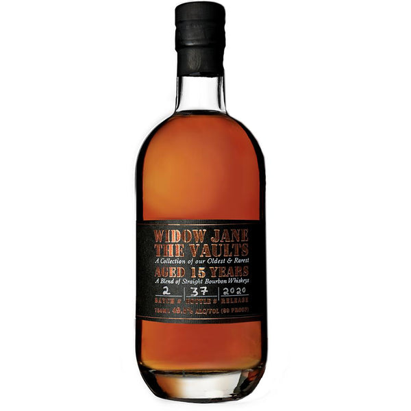 Widow Jane The Vaults 15 Year Old Bourbon 2020 Edition