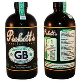 Pickett's Medium Spice Ginger Beer Syrup