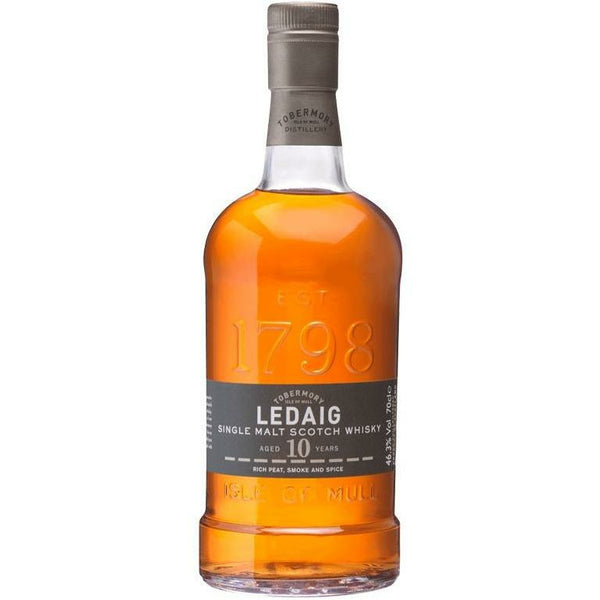 Ledaig Scotch 10 Year Single Malt Scotch