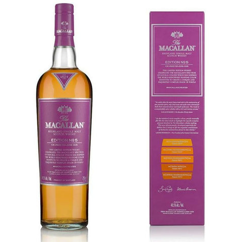 Macallan Single Malt Scotch Edition No. 5