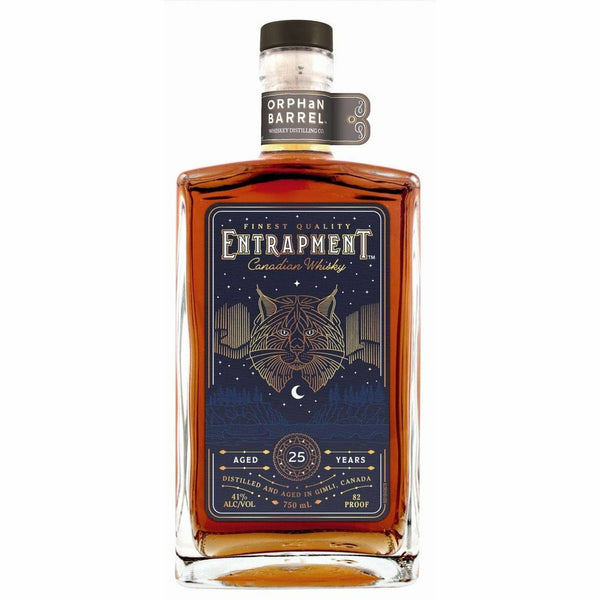 Orphan Barrel Entrapment 25 Year Old Canadian Whisky