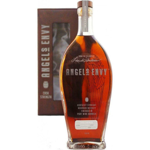 2015 Angel's Envy Cask Strength Bourbon Whiskey finished in Port Wine Barrels