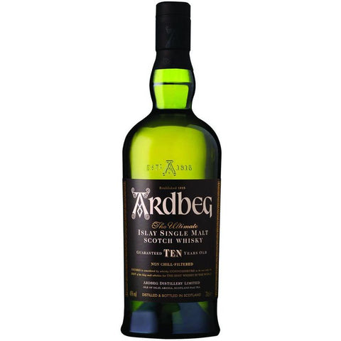 Ardbeg Scotch 10 Year Old Single Malt