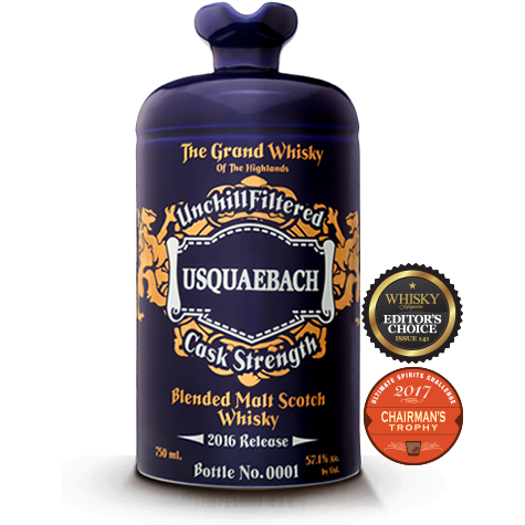 "Usquaebach ""An Ard Ri"" Cask Strength Blended Scotch Whisky"