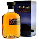 Balblair Scotch Single Malt 1983