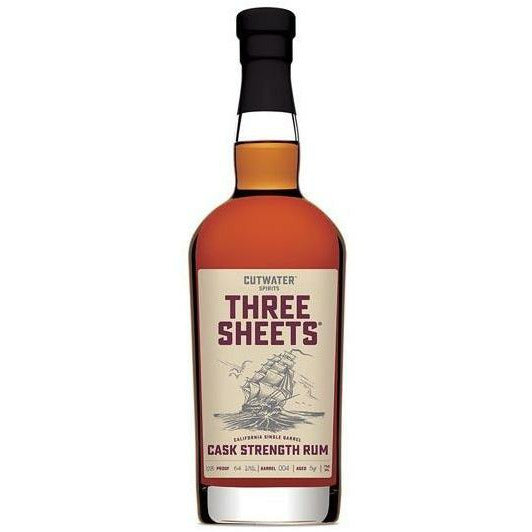 Cutwater Three Sheets Cask Strength Limited Edition Rum