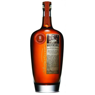 Masterson's Rye Whiskey 10 Year Hungarian Oak
