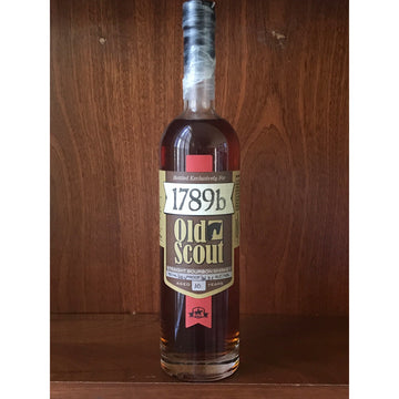 Smooth Ambler Old Scout 1789b 10 yo 122.6 Proof
