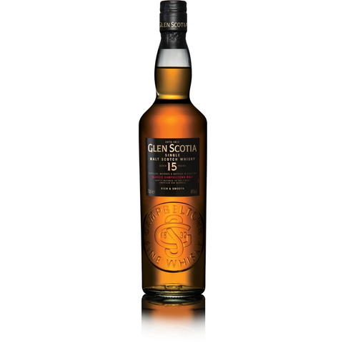 Glen Scotia 15 Year Single Malt Scotch Whisky