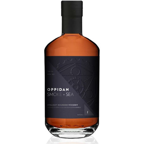 Oppidan Smoke + Sea Straight Bourbon Whiskey