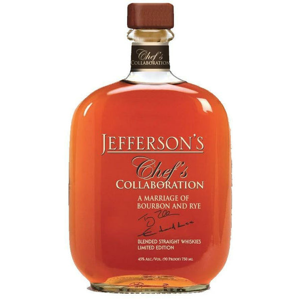Jefferson's Chef Collaboration Limited Edition Bourbon