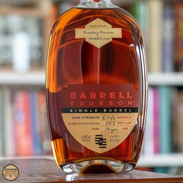 Breaking Bourbon x Barrell Single Barrel Bourbon E546