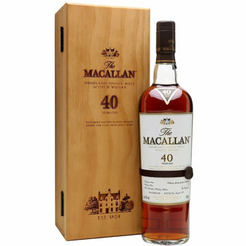 Macallan 40 Year Old Sherry Cask Single Malt Whisky