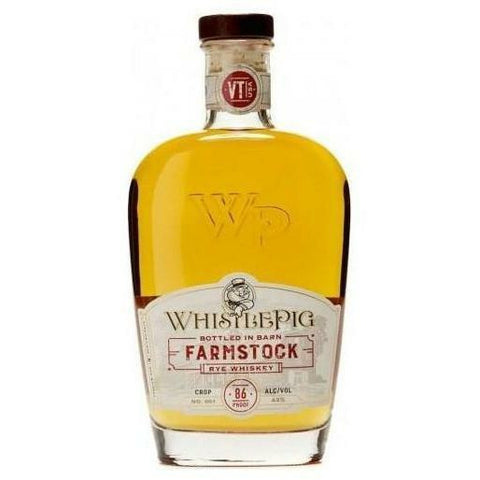 Pre-Order: WhistlePig FarmStock Rye Whiskey Crop No. 1