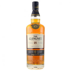 Glenlivet 18 Year Old Single Malt Scotch Whisky