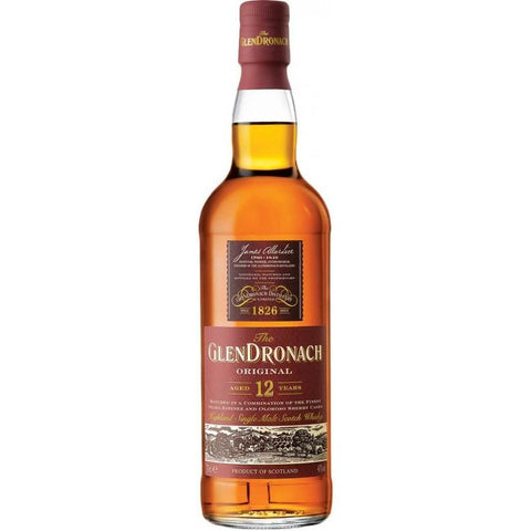 Glendronach Scotch Single Malt 12 Year Original