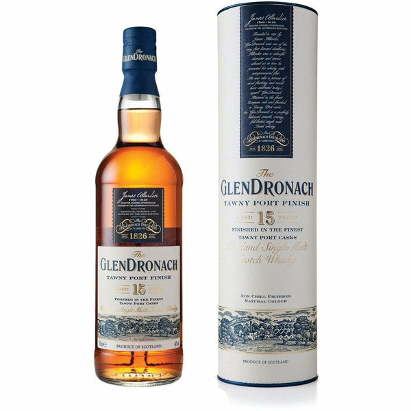 Glendronach Scotch Single Malt 15 Year Tawny Port Finished