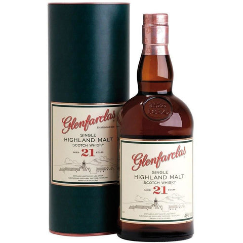 Glenfarclas Scotch Single Malt 21 Year