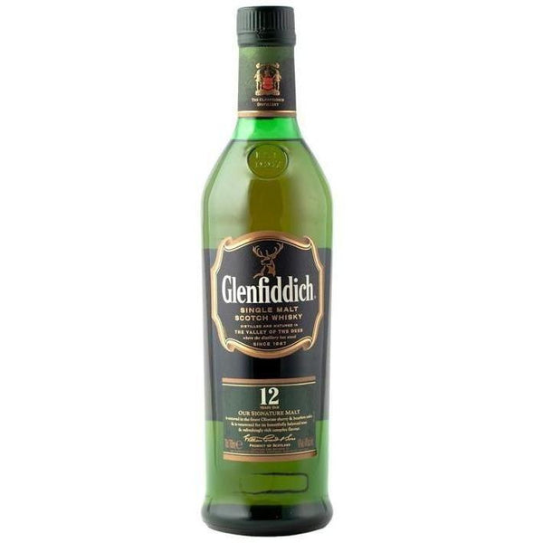 Glenfiddich Scotch Single Malt 12 Year Old