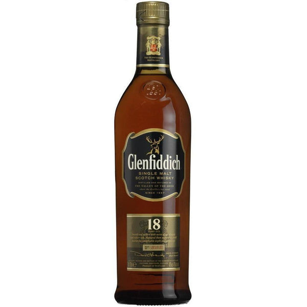 Glenfiddich Scotch Single Malt 18 Year Old