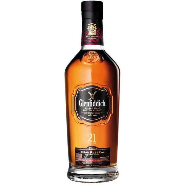 Glenfiddich Scotch Single Malt 21 Year Old