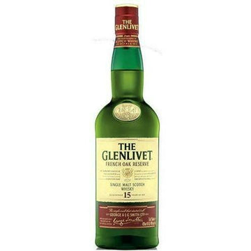 Glenlivet Scotch Single Malt 15 Year French Oak Reserve