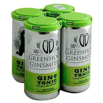 Greenhook Ginsmiths, Gin & Tonic (4X200ml)