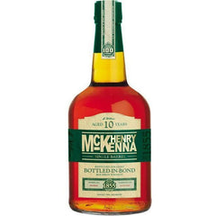 Henry Mckenna 10 Year Single Barrel Bourbon Whiskey