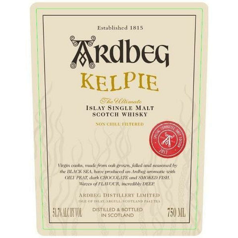 Ardbeg Kelpie Committee Limited Edition