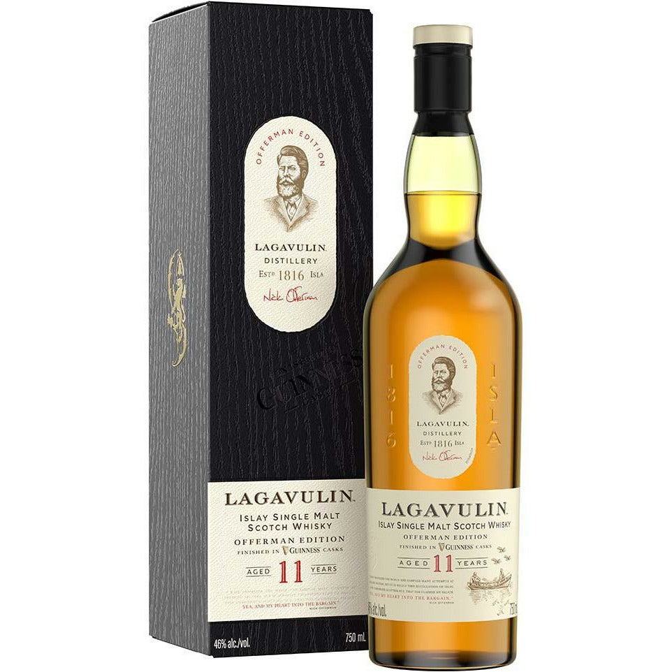 Lagavulin 11 Year Old Nick Offerman Guinness Cask Finish