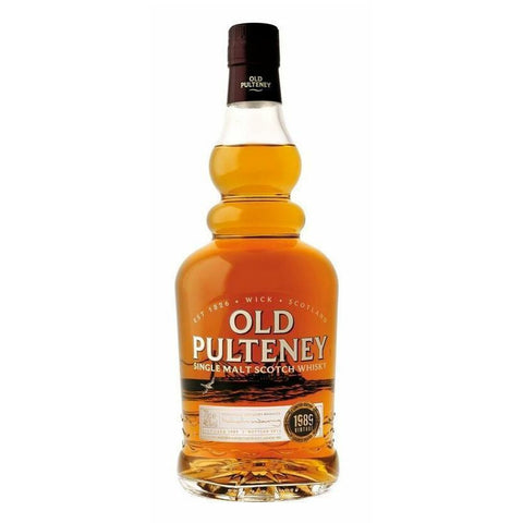 Old Pulteney 1989 26 Year Old Single Malt Scotch
