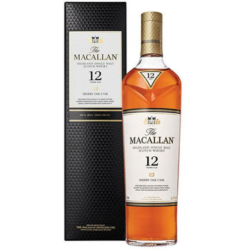 Macallan 12 Year Old Sherry Oak Cask Single Malt Scotch Whisky