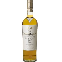 Macallan Fine Oak 10 Year Old Single Malt Scotch