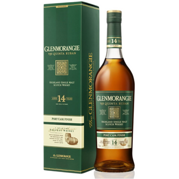Glenmorangie Scotch Single Malt 14 Year Quinta Ruban