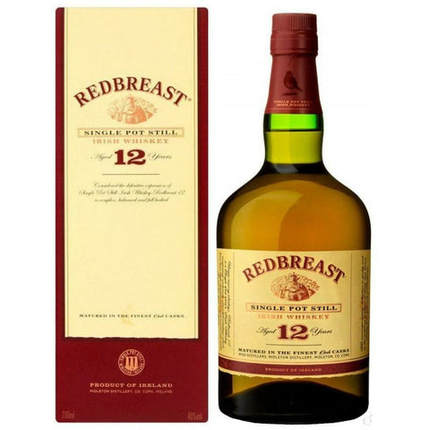 RedBreast Single Pot Still 12 Year Old Irish Whiskey