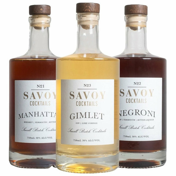 Savoy Cocktails Combo