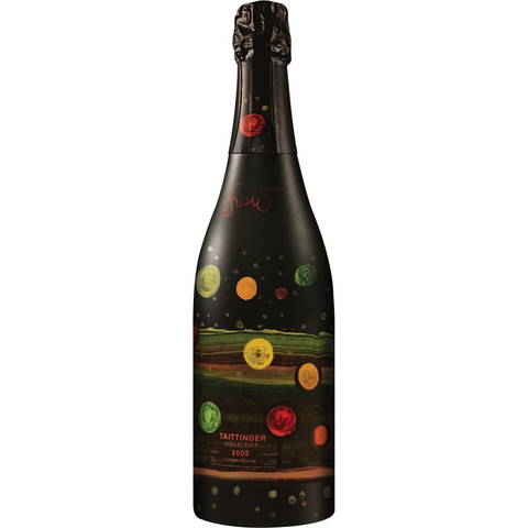 Taittinger Champagne: Artist Collection 2002 by Amadou Sow