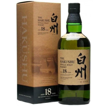 Hakushu 18 Year Old Single Malt Japanese Whisky