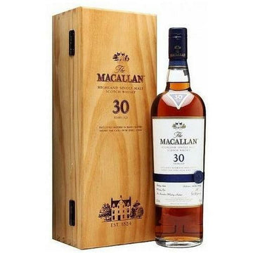 Macallan 30 Year Old Sherry Oak Single Malt Scotch